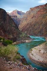 The Colorado (MattGerlachPhotography) Tags: blue arizona usa nationalpark grandcanyon may hike coloradoriver 2013 mattgerlachphotography