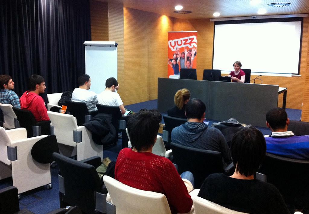 Jornada de formación YUZZ en Izarra Centre
