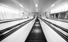 le dernier mtro (Fotoristin - blick.kontakt) Tags: urban blackandwhite lines station subway ubahn linien schwarzweis lederniermtro dieletztemetro