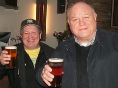 First at the real ales - Steve and Sid at the Oaka (selcamra) Tags: camra selcamra oakhamales oakaatthemansionhouse