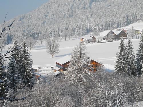 Blick vom Kobaldhof ins Tal