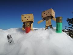 The mountain it overcomes you! (Damien Saint-) Tags: toy amazon vinyl yotsuba danbo amazoncojp revoltech danboard