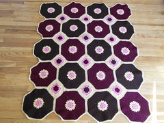 DSCN0174 (The Crochet Crowd) Tags: square spring squares crowd crochet mikey blanket afghan redheart challenge throw octagon freepattern 2013 freecrochetpattern crochettutorial thecrochetcrowd crochetcrowd octogonsquareafghan