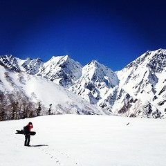 #hakuba #beautiful day #backcountry #白馬 #バックカントリー