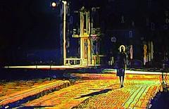 Criação com paisagem urbana noturna / Creation with nocturnal urban landscape (Valcir Siqueira) Tags: urban cute art night photography cool pretty sweet bonito digitalart creation conceptual criação belo conceitual fotopintura