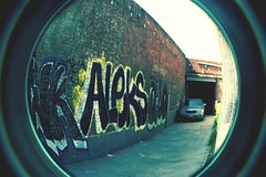 Aleks REC (ScHoolboyQfoooooo) Tags: street art graffiti la downtown style bombing burners rec aleks recrew