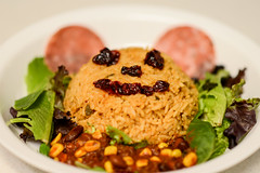 Smile (AnotherSaru - Limited mode) Tags: food smile dinner rice meal