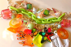 Candy Koi Charm Bracelet - Miami Sea Breeze - Fun by the Sea Shore (athinalabella1) Tags: pink paris cute glass yellow cake marie glitter hearts french spring yummy rainbow ribbons colorful neon yum candy heart princess sweet pastel bears kitsch funky carousel jewelry mama pop pearls sugar ring lolita pony cupcake fantasy bow kawaii valentines cameo glam antoinette ribbon chic bling sweethearts etsy dots lollipop gummi licorice drama unicorn suga tulle couture bows marieantoinette parisian gumballs whimsical frilly keroppi conversationhearts neovictorian shabby frou girlygirl cupcakesprinkles confettisprinkles athinalabella