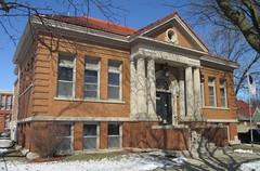 Old Carnegie Library (Marion, Iowa) (courthouselover) Tags: libraries iowa marion ia linncounty carnegielibraries cedarrapidsmetropolitanarea