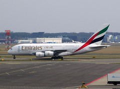 A380 emirates (dav_min) Tags: new holland netherlands amsterdam canon airplane march fly airport europe flickr dubai view expo taxi aircraft air uae first terminal aeroplane emirates arab airbus a380 schipol ams stance 2020 abz amsterdam2013