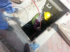 West Bay Fiber Optics Cable Installation