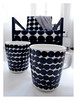 I went grazy and bought these Marimekko coffee mugs (Jaana H-N) Tags: blackandwhite ikea home modern design contemporary interior mug dots interiordesign marimekko finnishdesign räsymatto lillberg maijalouekari samiruotsalainen pienetkivet