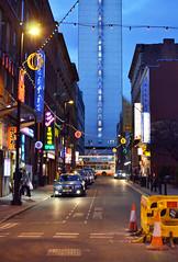 Week 13 - Hanging Lights (Sandra... Back on the Radar) Tags: uk signs manchester lights chinatown hanging week13 52images