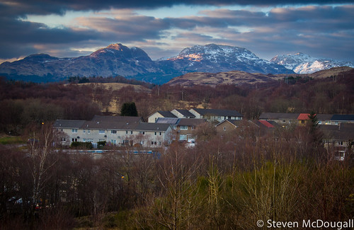 Arrochar Alps From Garelochhead