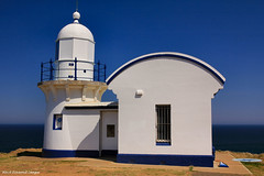 Tacking Point Lighthouse, (Built 1879) Port Macquarie, Mid North Coast, NSW, Australia (Black Diamond Images) Tags: lighthouse australia nsw portmacquarie bdi midnorthcoast australianlighthouses tackingpointlighthouse fourtholdestlighthouse