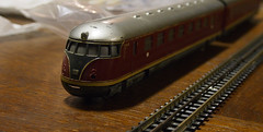 new model for the H0 railway modeller (Harry -[ The Travel ]- Marmot) Tags: railroad holland building netherlands dutch amsterdam train vintage toy toys miniature model village diesel trix nederland railway kln db express railyard modelling diorama trein trainyard emplacement amsterdamnoord miniatuur h0 treinbaan trixexpress dienstregeling vt08 modelbaan modeltreinbaan halfzero emplacemeholland vt08513