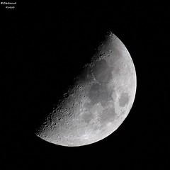 Just the moon (bertrand kulik) Tags: lune ciel nuit astronomie