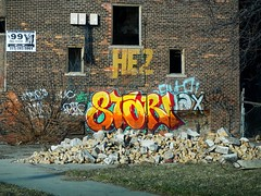 Stori (germanfriday) Tags: street art graffiti detroit writers stori detroitgraffiti germanfriday piecesofdetroit
