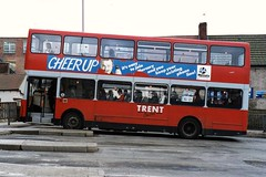 Trent Buses Leyland Olympian Alexander in Mansfield bus station (Mark Bowerbank) Tags: bus buses station trent alexander mansfield leyland olympian