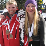 U14 Provincials, Silver Star - Kasper Woolley and Anna Gosney, GS Champs PHOTO CREDIT: Maria Sederholm