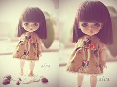 Cosma (alva / mareike) Tags: alva yellow doll dolls dress handmade sewing lea bjd abjd lati latiyellow princessealva