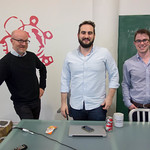 Andrew, David & Jake of Digg at Betaworks thumbnail
