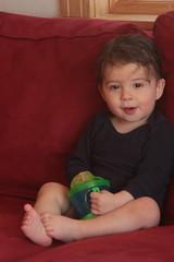 J15months (veronica p88) Tags: boy red portrait baby canon children child naturallight childphotography portraitphotography babyphotography