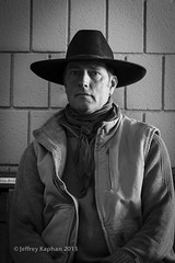 Jon 29/100 (jk.photos) Tags: portrait people blackandwhite cowboys rural nikon events nevada handheld cowboyhats cowboypoetrygathering elkonv nikond700 nikon2470