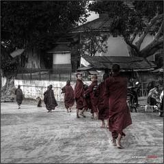 Monjes (bit ramone) Tags: pentax myanmar inle birmania nyaungswe bitramone pentaxk5
