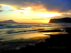 Sunset (YouMiss92) Tags: friends sunset sea sun me happy nice tramonto wave sole