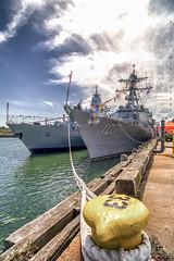 Battleships .::HDR::. (Wolf*gang) Tags: usa boston canon massachusetts me2youphotographylevel2 me2youphotographylevel3 me2youphotographylevel1 e2youphotographylevel1
