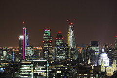 The City of London Skyline (corerising) Tags: city building london tower heron st skyline bar skyscraper point view skyscrapers cathedral centre mary skylines pauls views axe gherkin 42 paramount natwest leadenhall