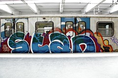 Stan Rome trains 2013 (STEAM156) Tags: italy rome subway graffiti travels photos trains stan vandalism runners panels wholecars steam156