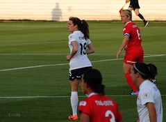Kelley O'Hara and Lori Lindsey (ssandralunaa) Tags: sports photography action soccer uswnt skybluefc nwsl washingtonspirit
