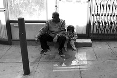 grandfather and granddaughter (vhines200) Tags: sanfrancisco chinatown 2016 grandfather girl toddler
