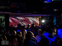 Palm Club (genelabo) Tags: party summer rain wall club sommer towers havana cuba slide vj led projection welcome fest pani kuba p1 munic colourfull vjing genelabo