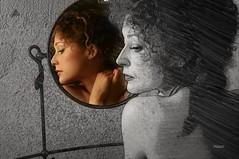 Hibir ey iin BENMDR deme Sadece de ki; YANIMDADIR  nk ne altn, Ne toprak, Ne sevgili, Ne hayat,  Ne lm, Ne huzur, Ne de keder Daima seninle kalmaz. H.Lawrence  #photography #mirror #women #face #edit #art #effect #pencilart #blackandwhite (mrbrooks2016) Tags: blackandwhite illustration freeart effect face old photography artwork edited photodesign art mirror portrait edit pencilart women