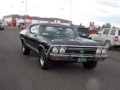1968 Chevrolet Chevelle SS (blondygirl) Tags: showshine car auto celebrationchurch june19 fathersday carshow 15thannual yeg sa 2016 antiquecars sportcars musclecars imports trucks motorcycles rain raindrops 1968 chevrolet chevelle ss chevroletchevelless chevroletchevelle