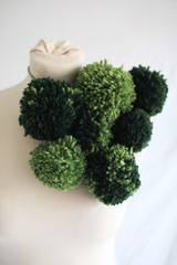 2015 (agnes.saabythomsen) Tags: miniprojektkropogform brocoli drapering textil fraktaler grønt grøn green kadk kadkdk