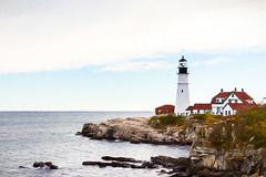 Proudly Protecting Portland (paulagoff) Tags: portland maine lighthouse portheadlighthouse porthead capeelizabeth head light portlandheadlight