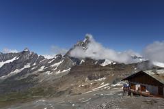 Plateau Ros - mt. 3500. Il Cervino avvolto dalle nuvole. (Ale*66*) Tags: plateaurosa cervino landscape paesaggio italy natura nature neve snow canon6d