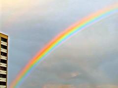 Rainbow scenery Waldhuser-Ost Regenbogen (eagle1effi) Tags: sx60 rainbow scenery waldhuserost regenbogen tbingen tanneweg 4 hochhaus 20 stockwerke osten