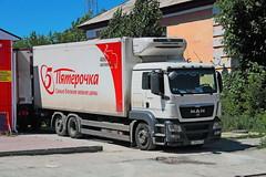 MAN TGS26.350   796  96 (RUS) (zauralec) Tags: kartaly leninstreet man tgs26350  796  96 rus retail chain x5 group