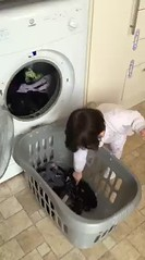 Doing the Laundry (Donna JW) Tags: childlabour earningyourkeep housework chores doingthelaundry