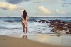 Samantha (ericvilendrerphoto) Tags: ocean waves longexposure rocks virginislands stthomas island experience exposure sony sonyzeiss35mm14za sonya7ii woman girl lady bikini butt clouds sky sunset sand legs hair ngc
