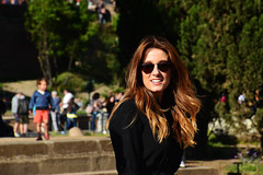 Keira Knightley (Smith-Bob) Tags: people candid street woman women rome roma italy italia europe colosseum icon history attraction tourist bloody romans empire tourists keiraknightley beauty beautiful attractive sunnies shades cool style stylish chic