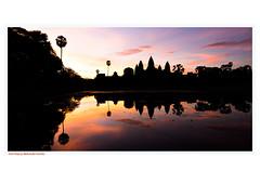Morning sunrise (Madhu75) Tags: morning siemreap cambodia buddhism hindu vishnu beauty walk