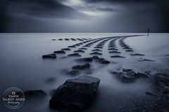 Vapour (SimonTHGolfer) Tags: landscape landscapephotography water longexposure art felixstowe suffolk eastanglia uk coast coastal sea dark moody dawn morning nikon simontalbothurnphotography bigstopper nd30 nd1024