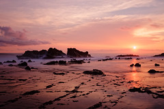 Couch pacifique (Nicobreizy) Tags: costa rica nicoya sunset beautiful pink ocean longexposure