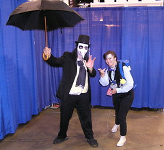 Wizard World Comic Con 2015 (Vinny Gragg) Tags: costume costumes cosplay dccomics dc marvelcomics marvel marveluniverse penguin thepenguin oswaldchesterfieldcobblepot oswaldcobblepot superheroes superhero comics comicbooks comicbook villian villians supervillian supervillians wizardworldcomiccon wizardworld comiccon chicagocomiccon comiccon2015 rosemontillinois rosemont illinois doctorwho drwho umbrella umbrellas